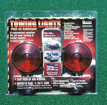 Light Kit (Magnetic base) for towed vehicle