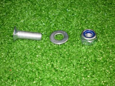 Poly Pad Mounting Bolt and Nut